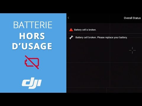 video DJI Batterie intelligente Mavic Pro (1)