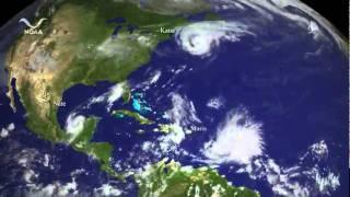 The 2011 Hurricane Season in 4.5 minutes