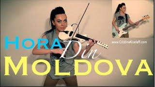 Hora din Moldova - Nelly Ciobanu (Violin & Bass Cover Cristina Kiseleff)