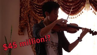 Man plays on Best Violin in the World