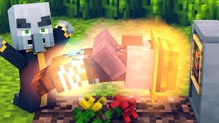 Villager vs Pillager Life 8 - Minecraft Animation