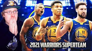 Its Happening Again. Rebuilding The Giannis Antetokounmpo Golden State Warriors In NBA 2K19