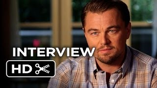 the wolf of wall street interview leonardo dicaprio