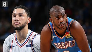 Philadelphia 76ers vs Oklahoma City Thunder - Full Highlights   Nov 15, 2019   2019-20 NBA Season