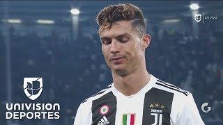 ¡Adiós, Cristiano! Con patada de amarilla y cabizbajo, Ronaldo se despidió de la Champions