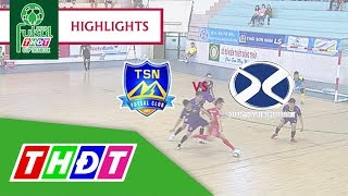 Highlights Futsal Truyền hình Đồng Tháp 2018 | Trẻ Thái Sơn Nam vs Bảo hiểm Xuân Thành ĐT | THDT
