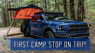 Road Trip & Overlanding in Ford Raptor: Episode 1 - First Camp