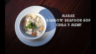 Dapoer Kularso: Masak Rainbow Seafood Sop Cuma 5 Menit