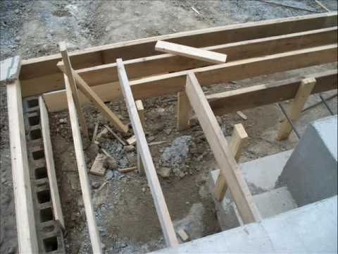 how to build concrete stairs the easy way
