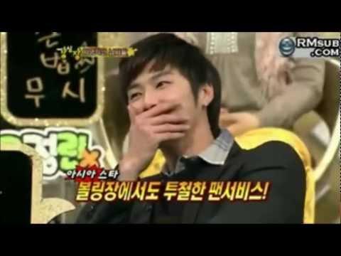 [HD][ENG] (TVXQ CUT) When Yunho Plays Bowling....