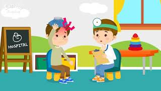 Kids vocabulary compilation ver.2 - Words starting with F, f - Learn English for kids