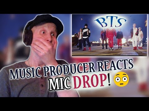 Music Producer Reacts to BTS (방탄소년단) 'MIC Drop (Steve Aoki Remix)
