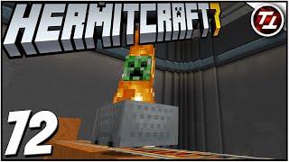 Flaming Creeper  Highway! - Hermitcraft 7: #72