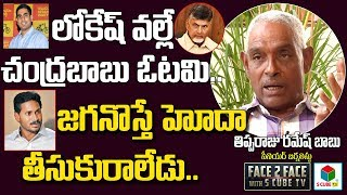 Tipparaju speaks about Chandrababu, Lokesh & YS Jagan..