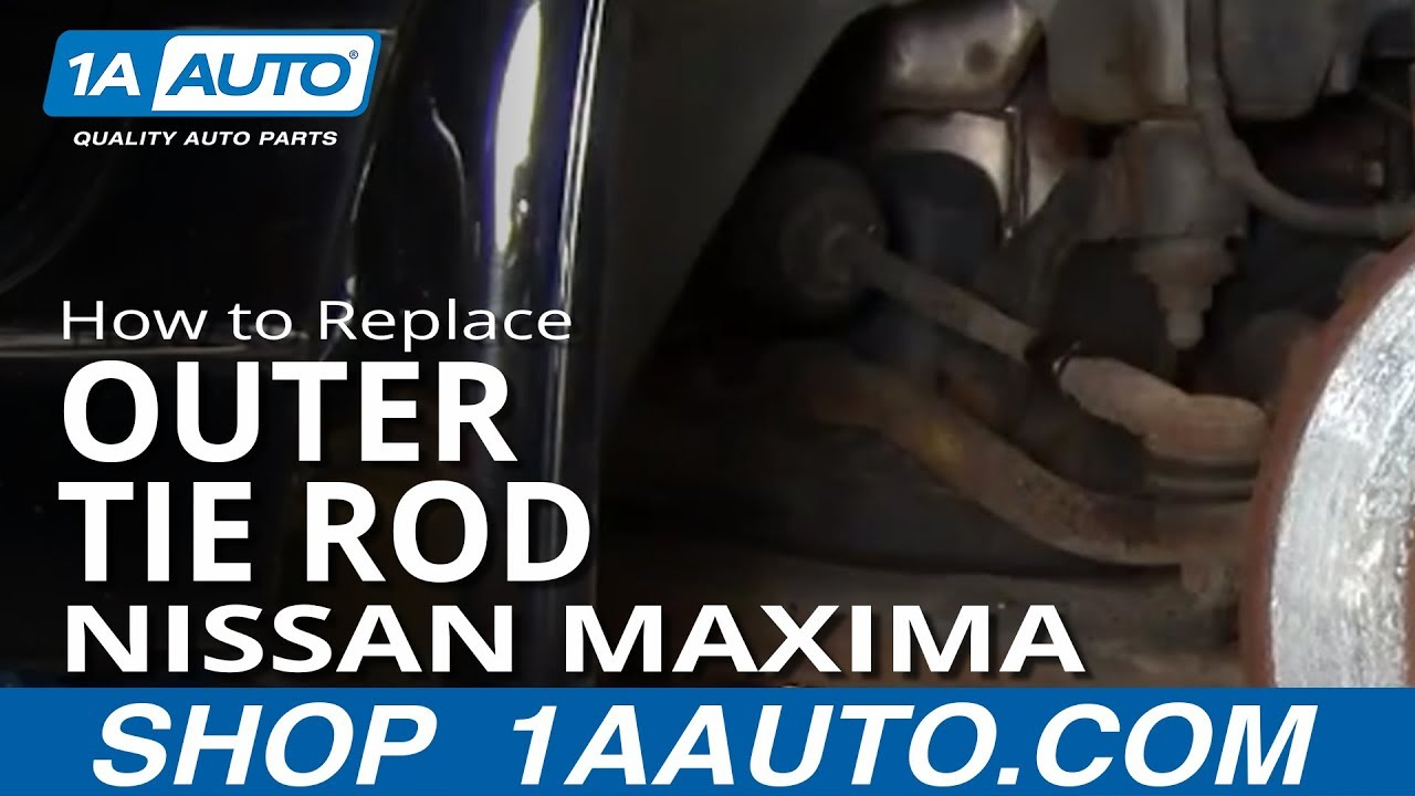 How To Install Replace Worn Outer Tie Rod 1995 08 Nissan