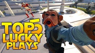 """Star Wars Battlefront Top 5 LUCKY KILLS - """"Don't get cocky kid!"""""""