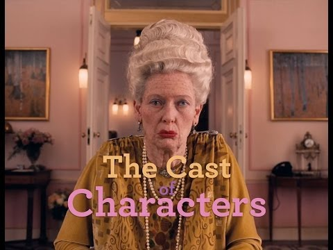 THE GRAND BUDAPEST HOTEL - Meet The Cast Of Characters - Smashpipe Film