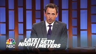 Seth Pays Tribute to Robin Williams - Late Night with Seth Meyers