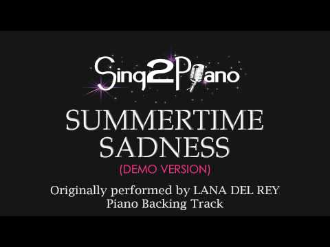 Baixar Summertime Sadness (Piano Karaoke Version) Lana Del Rey