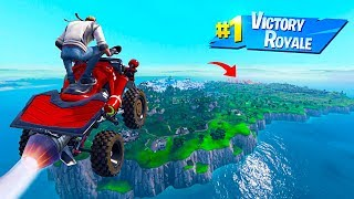 Can A VEHICLE JUMP The ENTIRE MAP in Fortnite Battle Royale