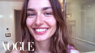 Watch Andreea Diaconu's Witchy Beauty Routine | Beauty Secrets