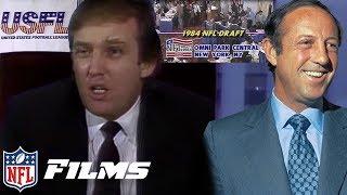 USFL vs. NFL 1984 NFL Draft WAR | NFL Draft Stories