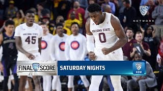 Highlights: Red-hot shooting performance lifts Arizona State men's basketball past Washington