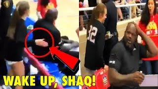 Only this girl can SLAP Shaquille O'Neal, and get away with it!