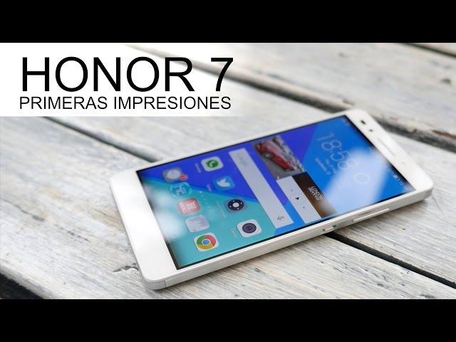 Primeras impresiones Honor 7