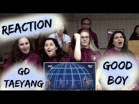GD X TaeYang Good Boy (Live MAMA) Reaction [*LAST* Classmates Edition]