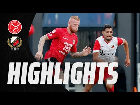 HIGHLIGHTS | Jong FC Utrecht verliest oefenduel met Almere City