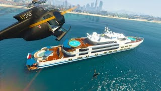 STEALING PEOPLE'S YACHTS! | GTA 5 THUG LIFE #211