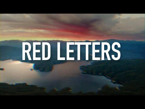Red Letters - [Lyric Video] Crowder