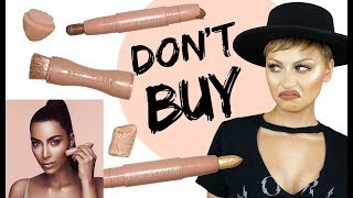 DO NOT BUY KKW Beauty Contour & Highlight Sticks Review | Alexandra Anele