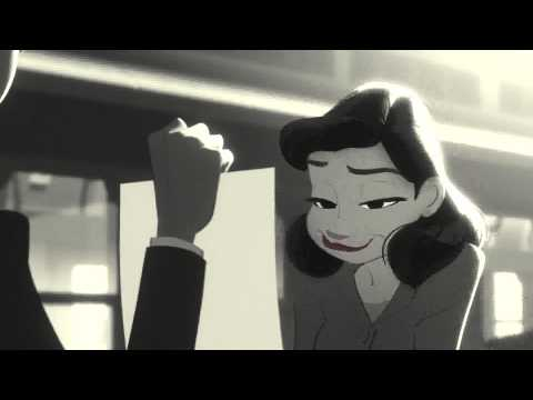 Paperman by Disney [sent 45 times]