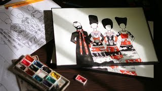Making of Animated Costumes - DakhaBrakha