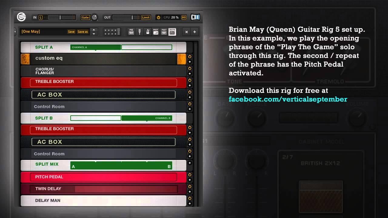 Brian May Guitar Rig :  ~ Vivirlamusica.com Haus und Dekorationen