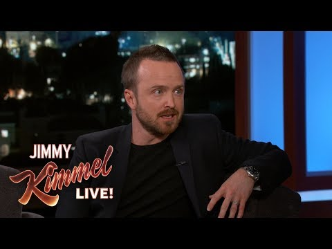 Aaron Paul Reveals What NOT to Say to Your Wife During Labor