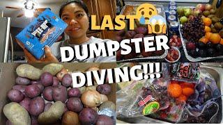 BUHAY AMERIKA : LAST DUMPSTER DIVING VIDEO FIL-AM LIVING SIMPLY IN AMERIKA