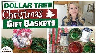 5 DIY DOLLAR TREE CHRISTMAS GIFT BASKETS 🎄  | Budget Christmas Gift Ideas