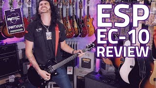 ESP EC-10 KIT BLK Electric Guitar Review - The Best Cheap Guitar For Metal