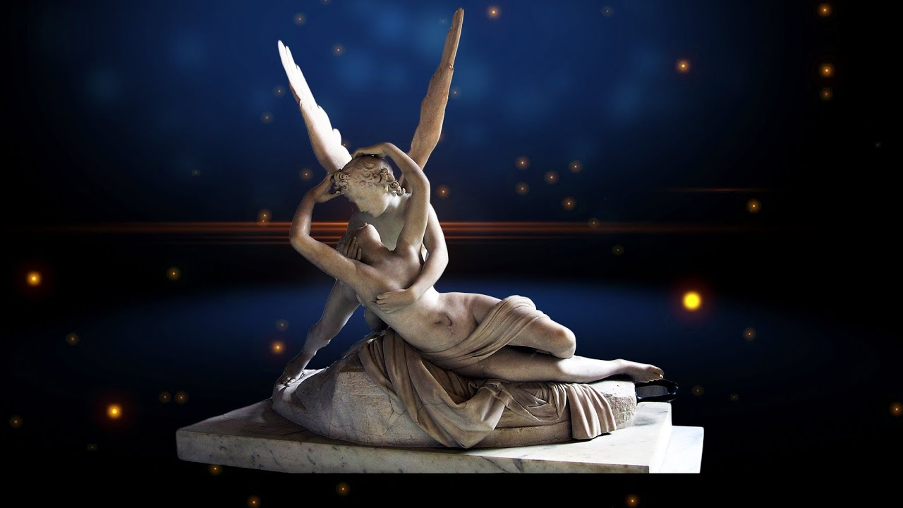 Antonio canovas sculpture psyche revived by