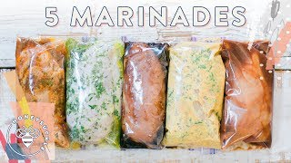 5 EASY DIY Chicken Marinades + 3 Meal Ideas!!! | HONEYSUCKLE