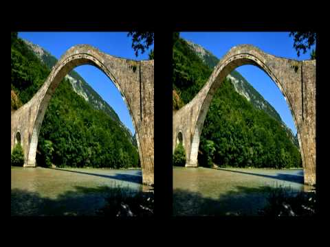 European Landmarks and Attractions in 3D