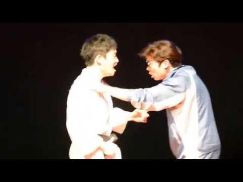 150401 연극 유도소년 마티네 커튼콜 :: 요셉 오의식