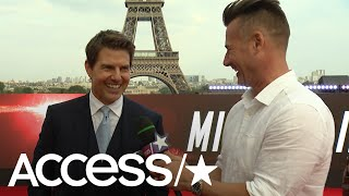 Tom Cruise On Vanessa Kirby's Powerful, 'I Just Own You' Kiss In 'Mission: Impossible – Fallout'