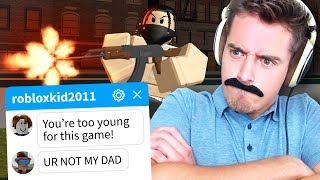 Pretending to be a PARENT in Roblox