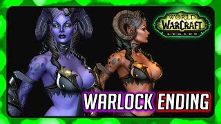 WOW Legion 🌟 Warlock Campaign Ending - Enslaving the Eredar Twins