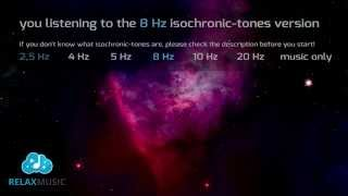 8 HOURS REM sleep 8Hz Low Alpha Wave isochronic tones
