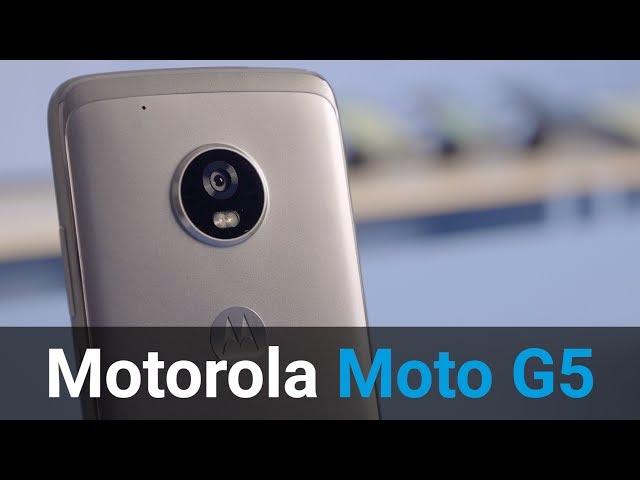 Belsimpel-productvideo voor de Motorola Moto G5 Grey